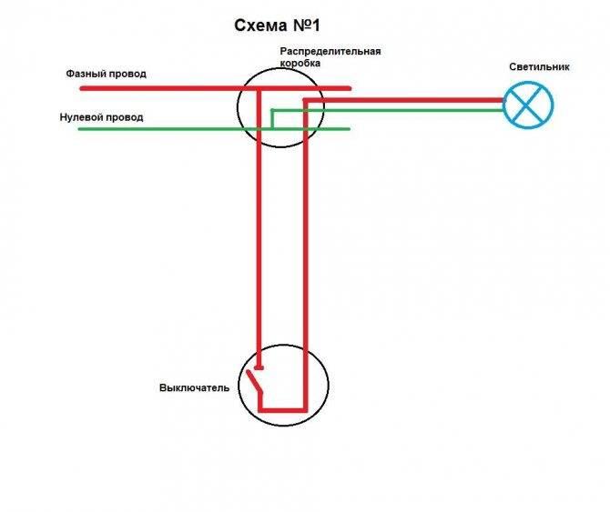 Как подключить бра с выключателем шнурком: схема подключения, этапы монтажа