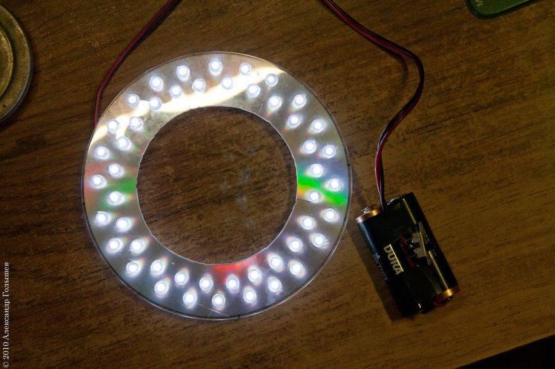 3 крутых светильника из светодиодной ленты своими руками.