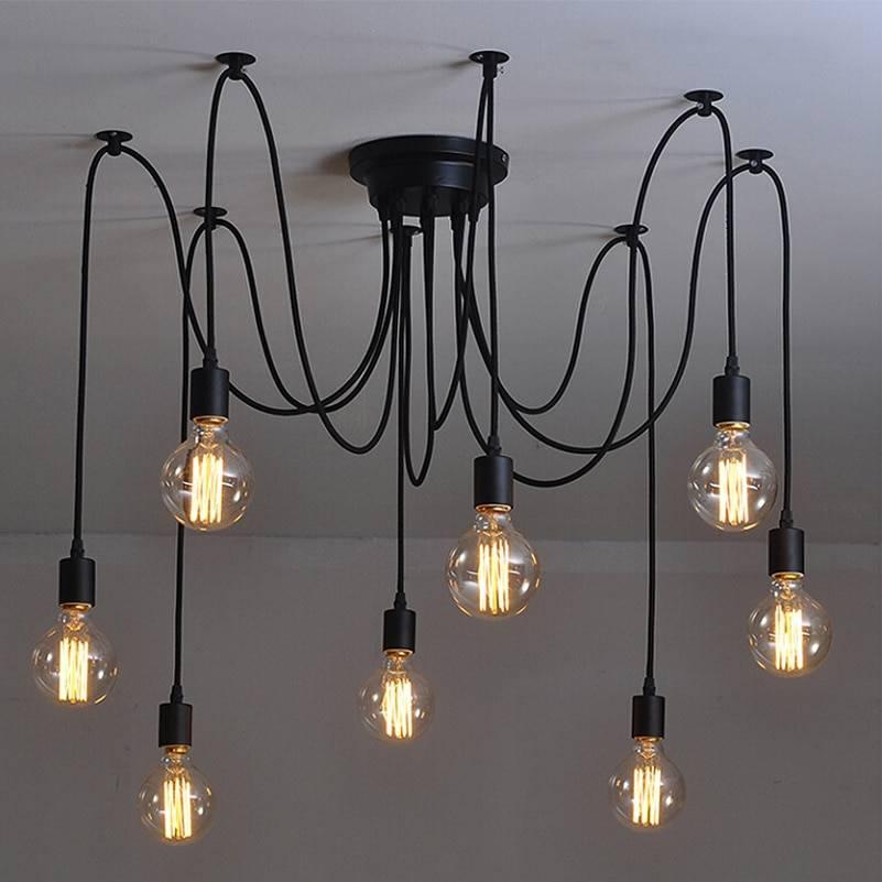 Дизайнерские светильники в стиле лофт - лучшие идеи