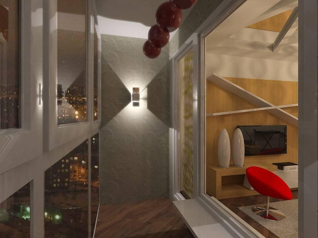 Освещение на балконе: виды светильников и ламп, монтаж проводки