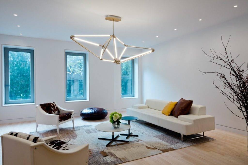 Освещение в гостиной — 170 фото и видео правильного оформления и настройка освещения в гостиной