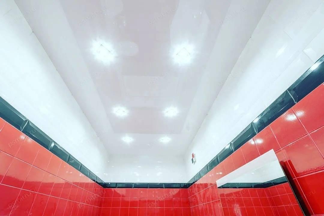 Как красиво расположить светильники на натяжном потолке? – 26 фото, схемы и правила