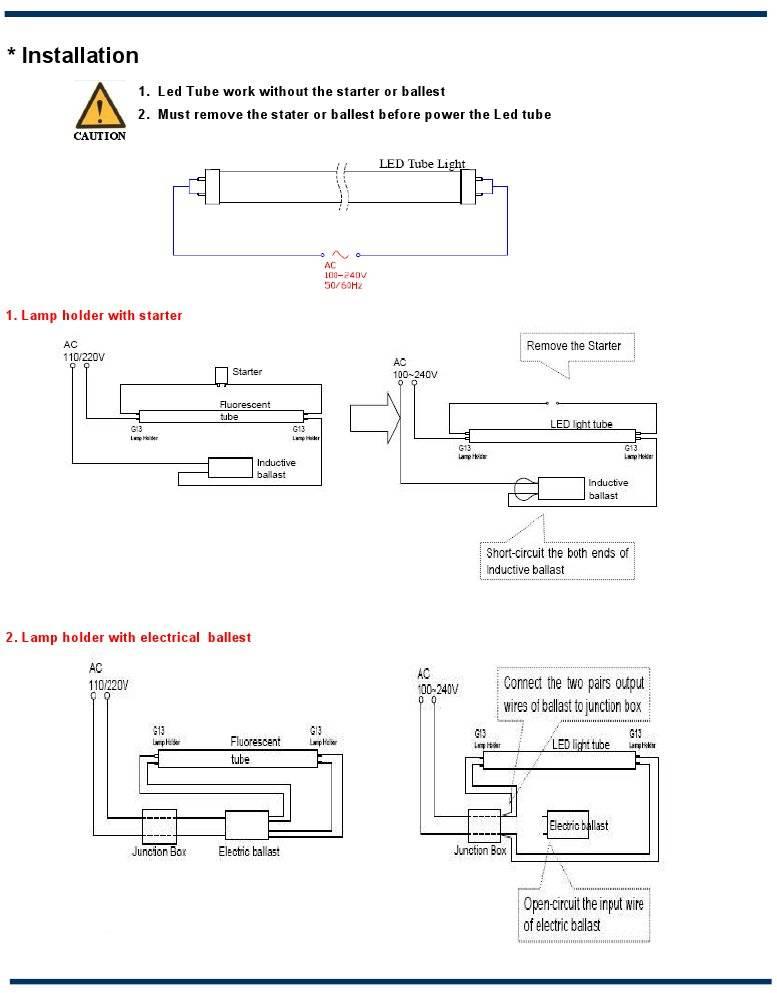 Как подключить светодиодную лампу вместо люминесцентной самостоятельно? – ремонт своими руками на m-stone.ru