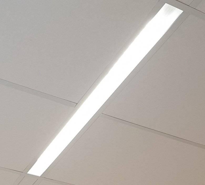 Светодиодные линейные светильники: конструкция, технические характеристики и области использования