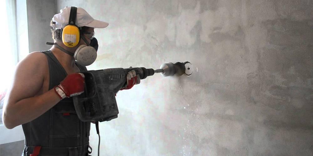 Чем замазать штробу с проводкой в стене: в бетонной, кирпичной стене или монолите