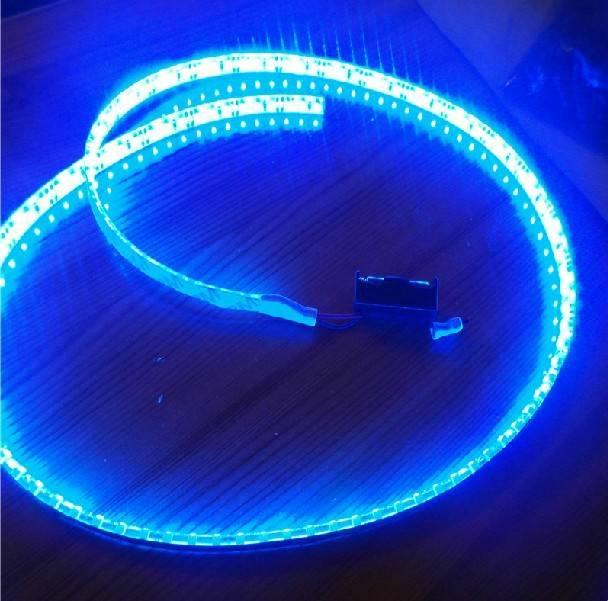 Подключение светодиодной ленты к аккумулятору 12v