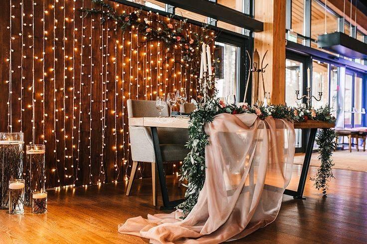 Украшение зала на свадьбу цветами в тренде [2021] – фото ? & идеи декора