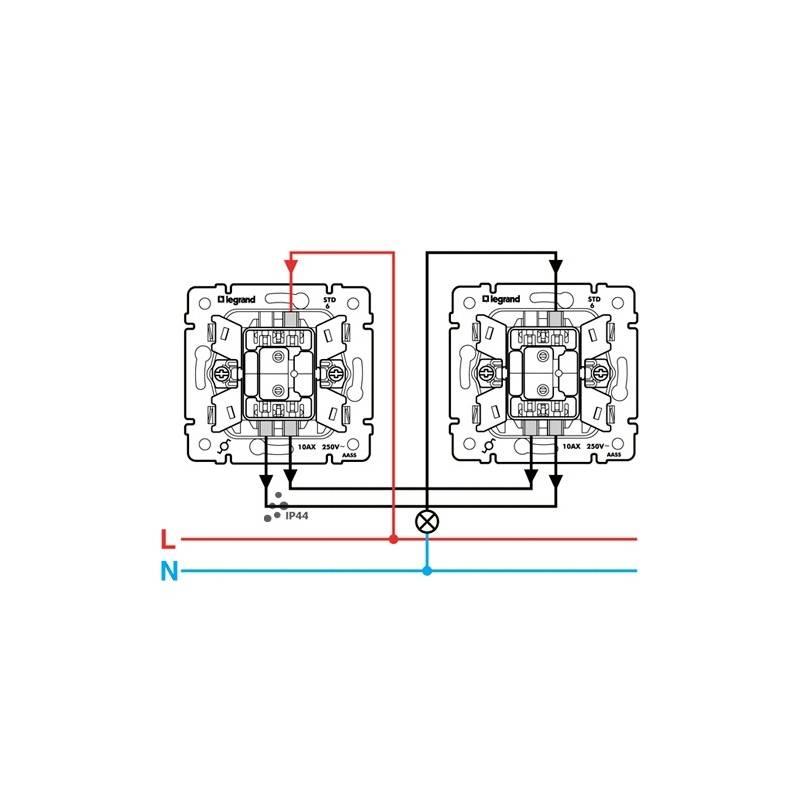 Выключатель legrand как подключить одноклавишный с подсветкой - вместе мастерим