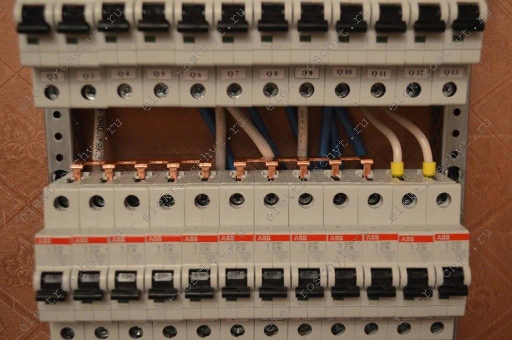Электрический щиток в частном доме: вводный, распределительный, на даче, расключение
