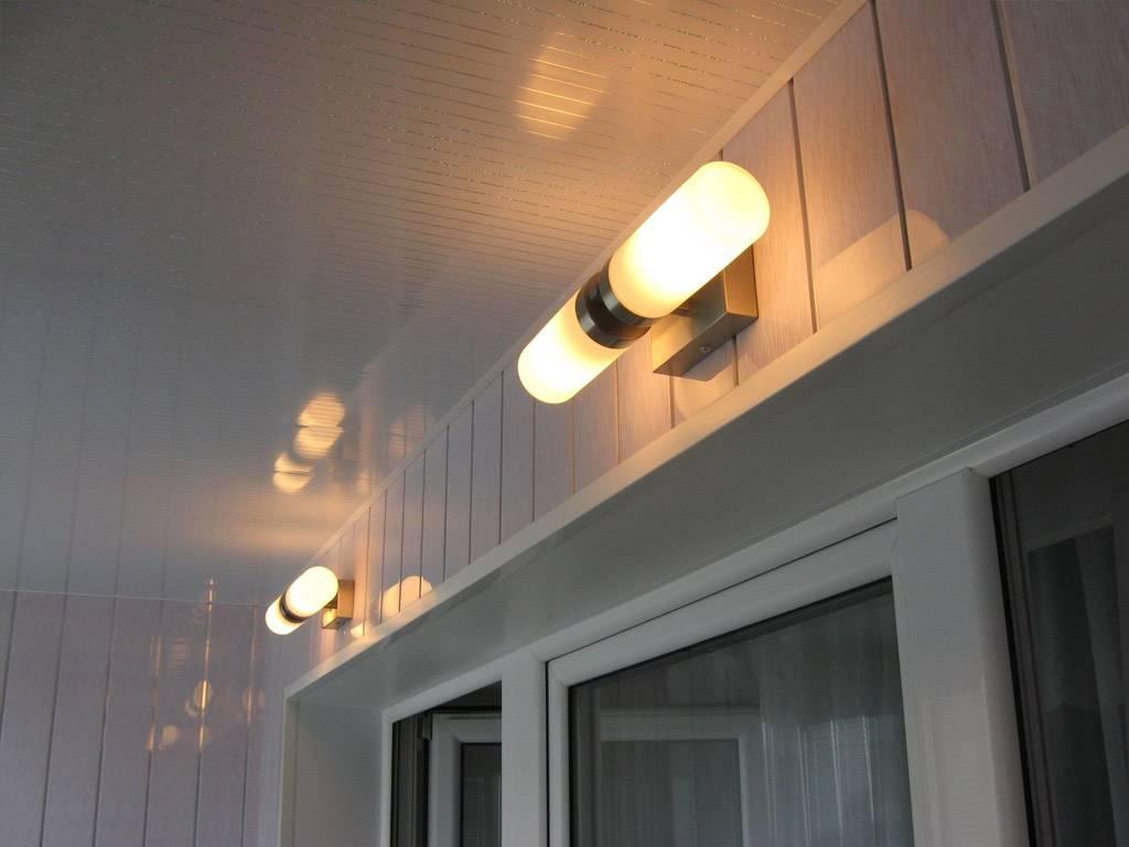 Освещение на балконе или лоджии: 3 популярных вида | дневники ремонта obustroeno.club