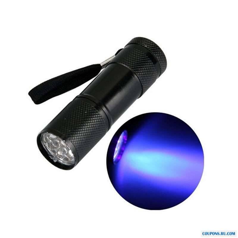 Как выбрать ультрафиолетовый фонарик и зачем он нужен