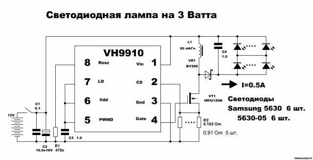 Что такое драйвер для led-светильников, как подобрать и проверить это устройство?