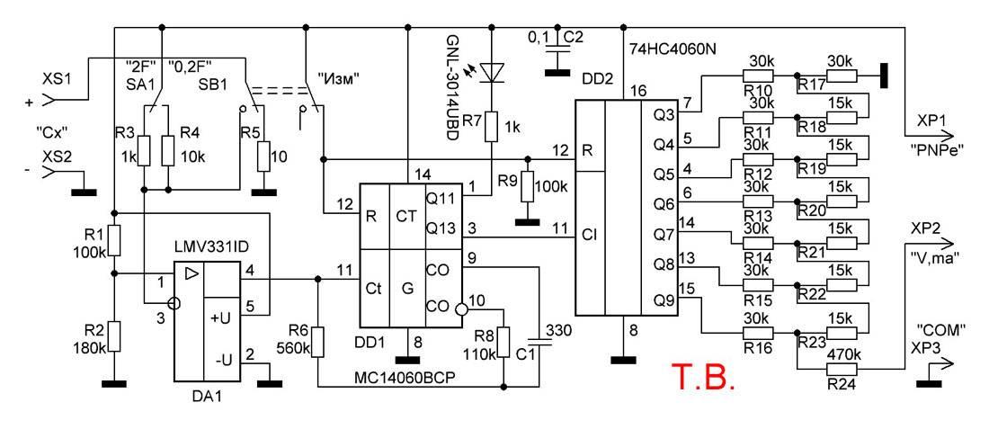 Ёмкость конденсатора: единица измерения, как измерить мультиметром