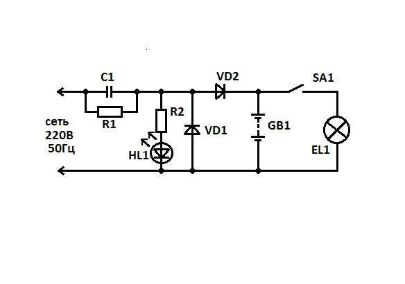 Как сделать фонарик своими руками на батарейках – как собрать светодиодный светильник