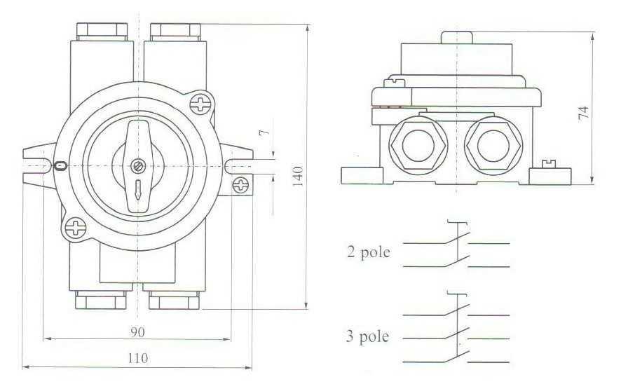 Пакетный выключатель - назначение, схема и устройство