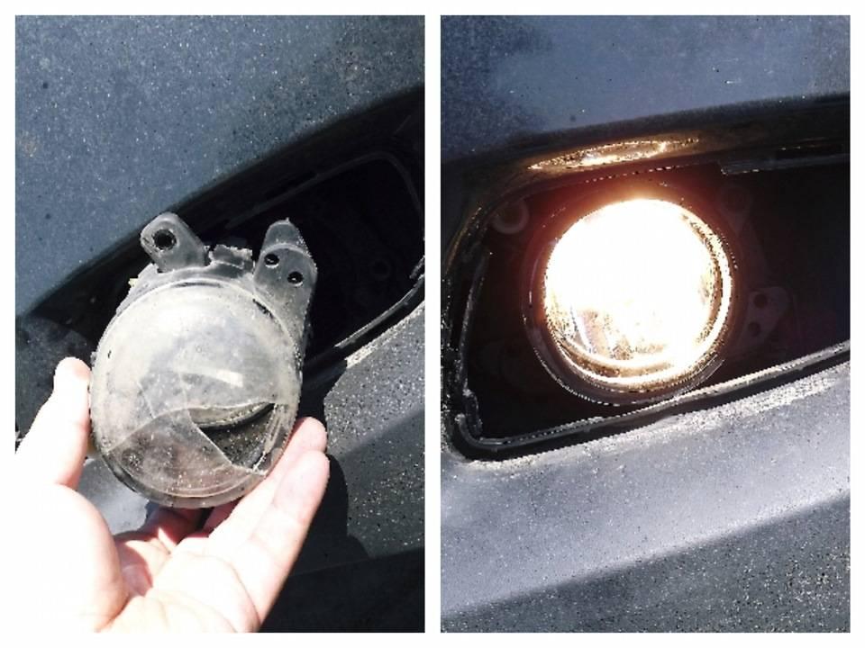 Замена лампочки в противотуманной фаре своими руками - как выбрать и поменять лампу