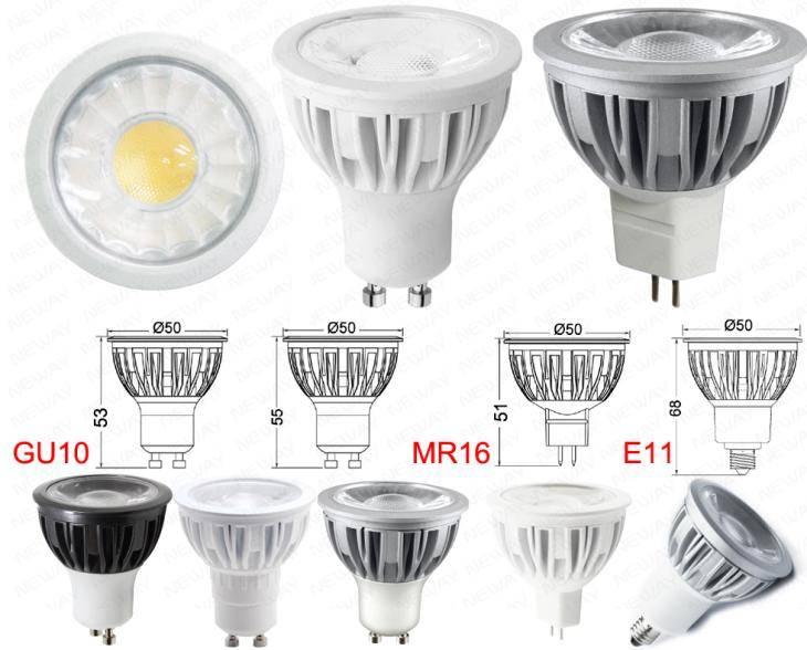 Цоколи ламп (типы, виды, расшифровка) список с картинками