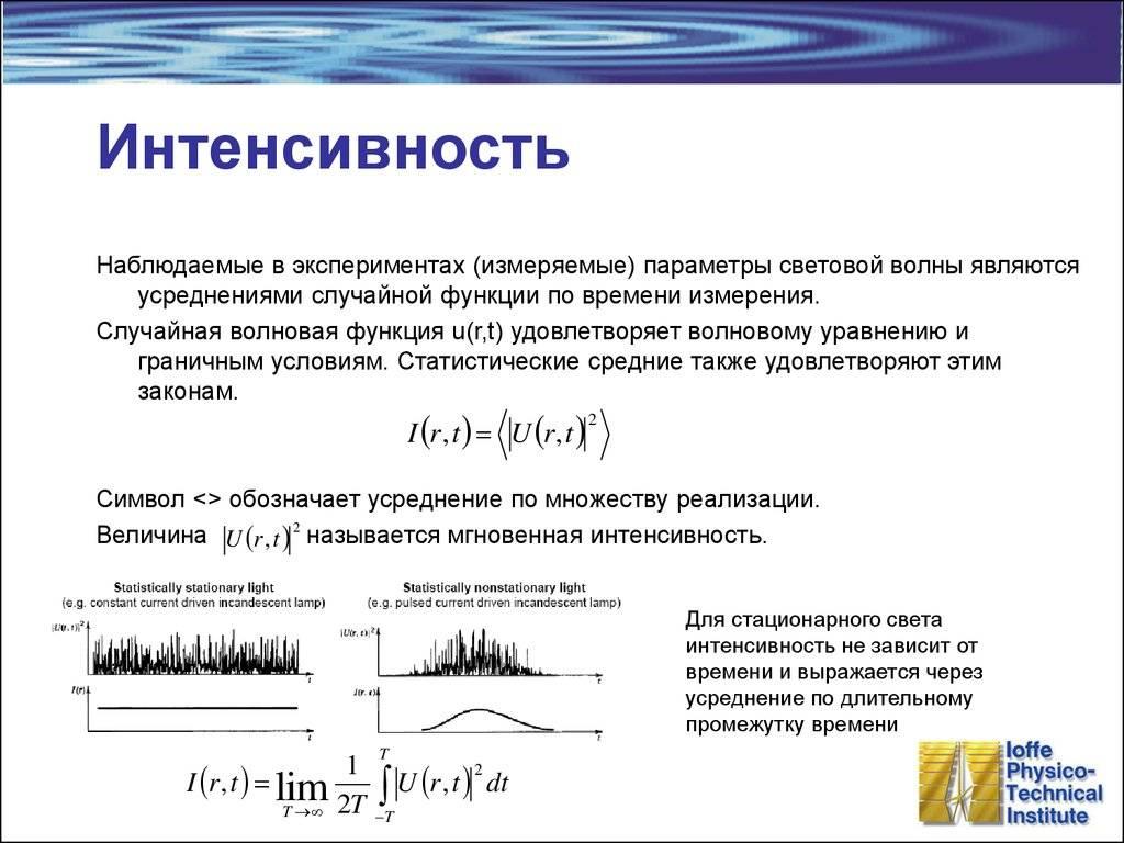 Сила света, формула: общие сведения о понятии