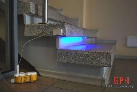 Подсветка лестницы в доме: 58 фото, идеи освещения ступеней