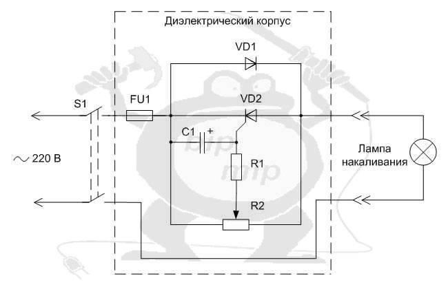 Диммер - что это, принцип действия светорегулятора, преимущества и недостатки, область применения, схема подключения устройства