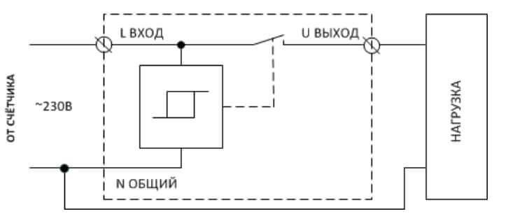 Устройство защиты узм-51м. схема подключения