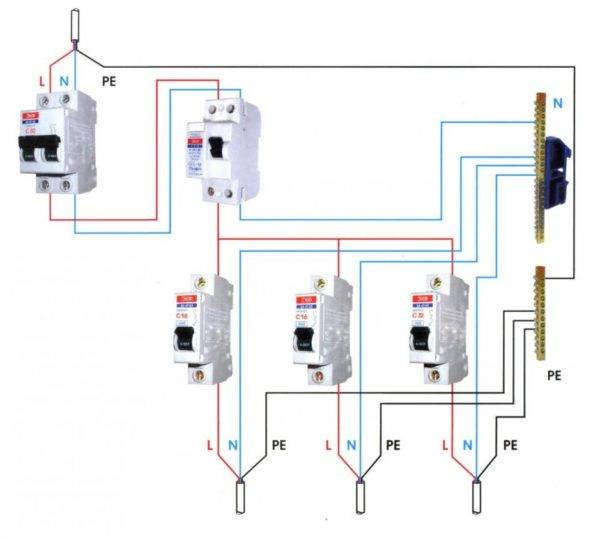 Узо 3 фазное - советы электрика - electro genius