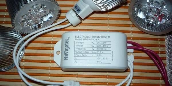 Подключение трансформаторов для галогенных ламп 12 вольт