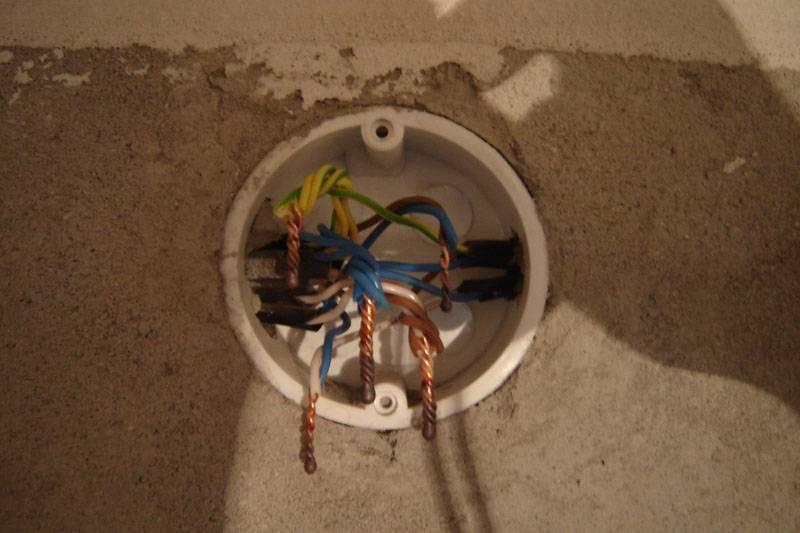 Установка распределительных коробок - все про электрику