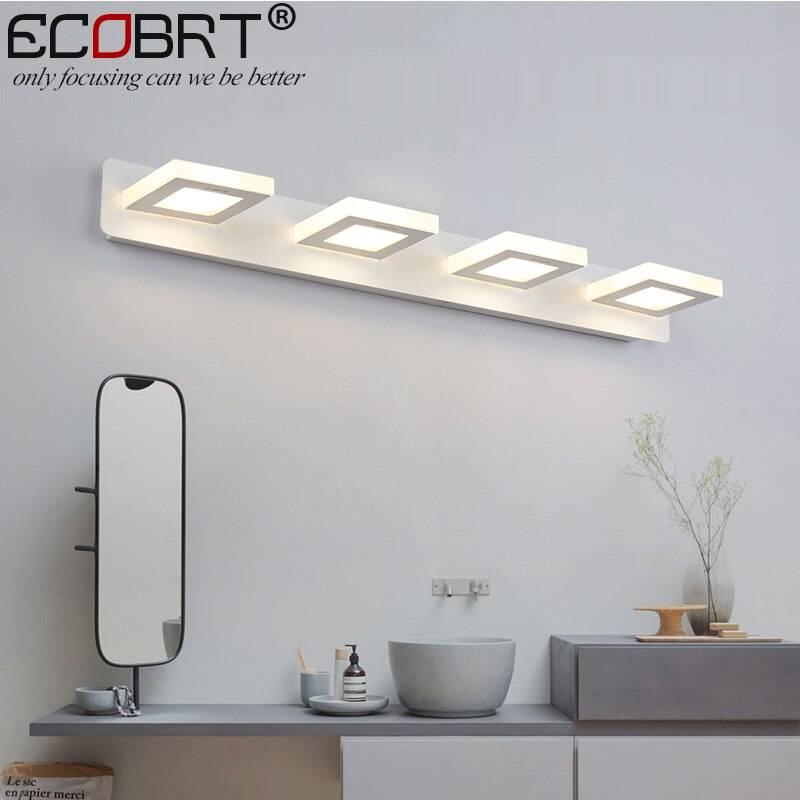 Какой светильник выбрать для ванной:какие лучше, обзор