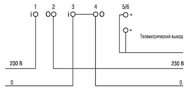 Меркурий 201: описание счетчика, схема подключения