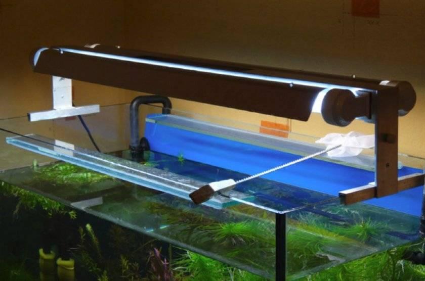 Освещение для аквариума — 3 метода расчета.