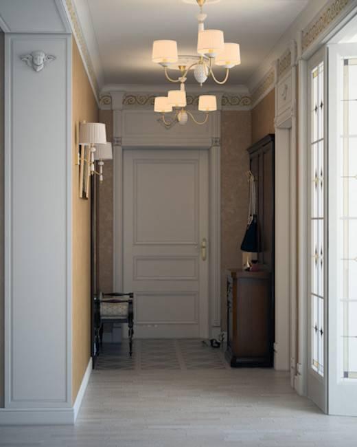 Современное и стильное освещение в прихожей и коридоре в 2021 году