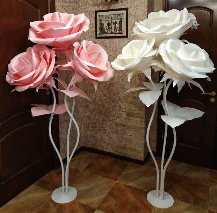 Розы из изолона своими руками. мастер-класс с пошаговыми фото