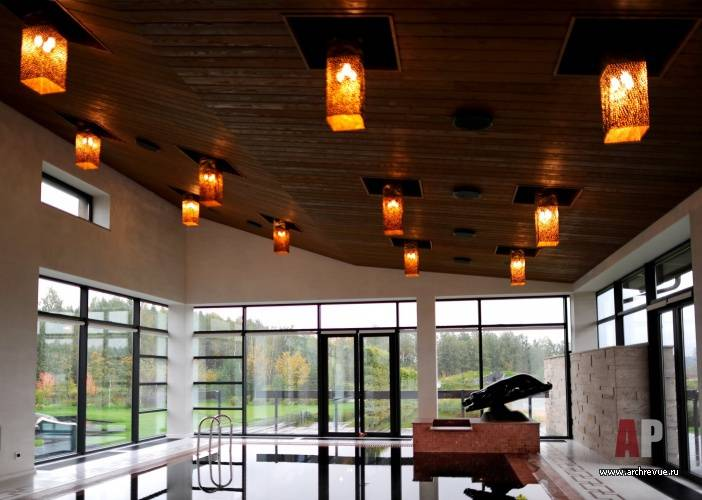 12 идей красивого освещения террасы - электрика