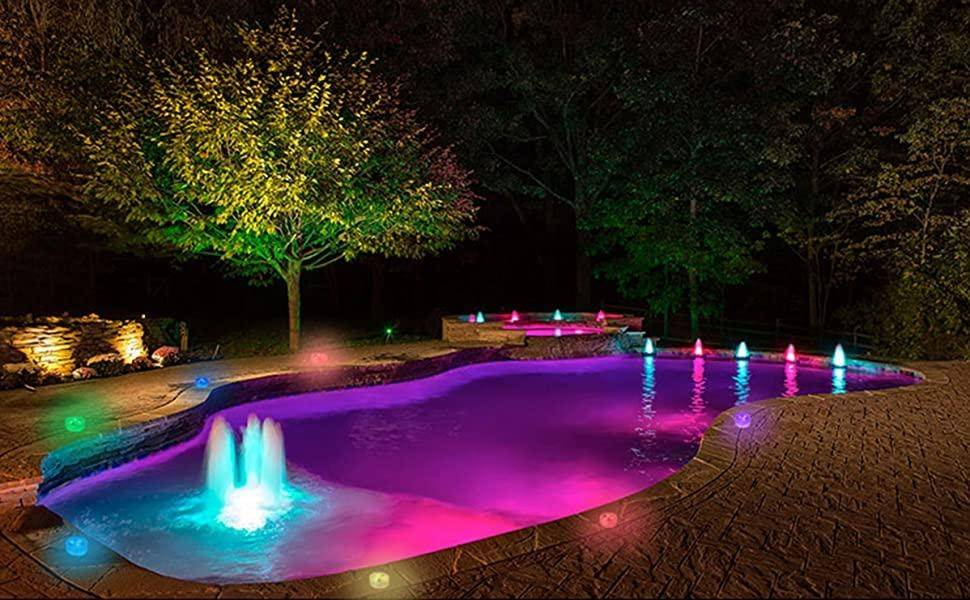 Как осветить бассейн: типы светильников, задачи освещения, нормы и требования