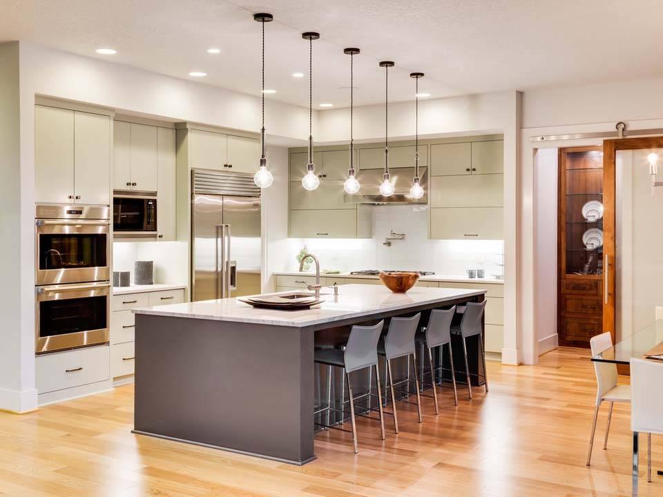 Зонирование кухни и гостиной: оригинальные решения. как разделить кухню и гостиную? примеры зонированиякухня — вкус комфорта