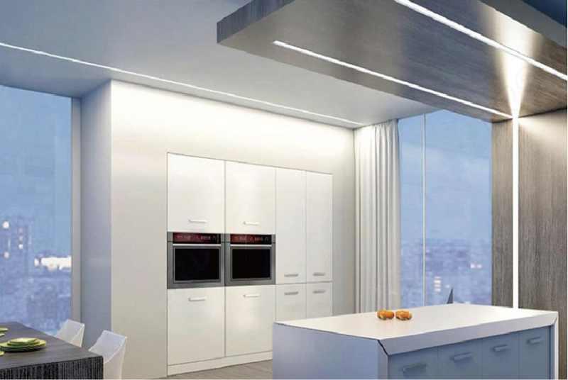 Светодиодная подсветка кухни – о выборе и монтаже своими руками (фото)