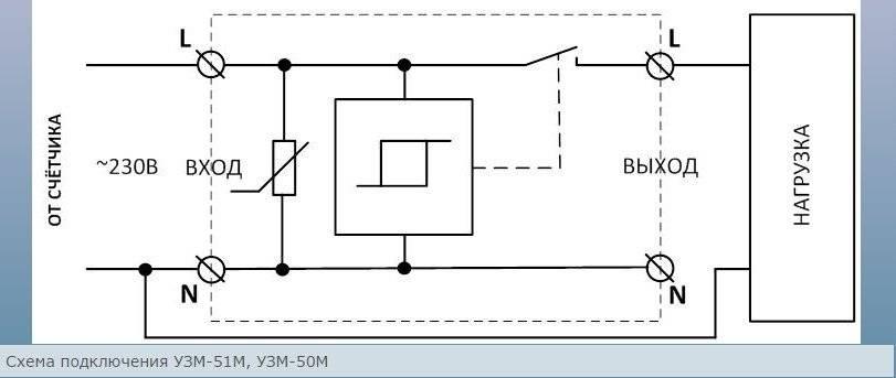 Что такое узм 51м в электрике — характеристики, схема подключения