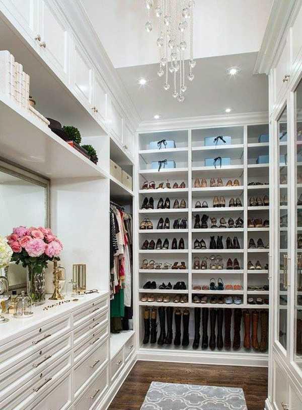 Освещение в гардеробной: как сделать своими руками, какой тип подсветки выбрать