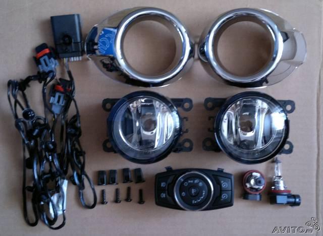 Противотуманные фары форд фокус 2: какие стоят лампы, замена - led свет