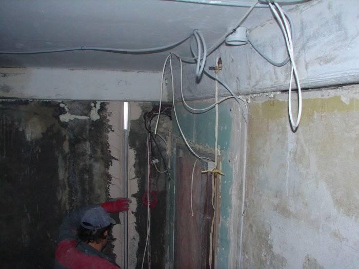 Сечение проводов в городской квартире