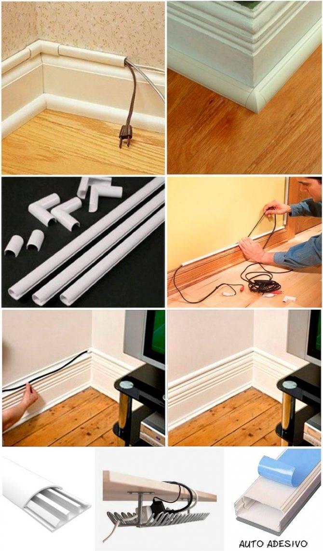 Как красиво спрятать провода от телевизора? как спрятать проводку в бетонной и гипсокартонной стене? необычные способы спрятать провода на стене: описание