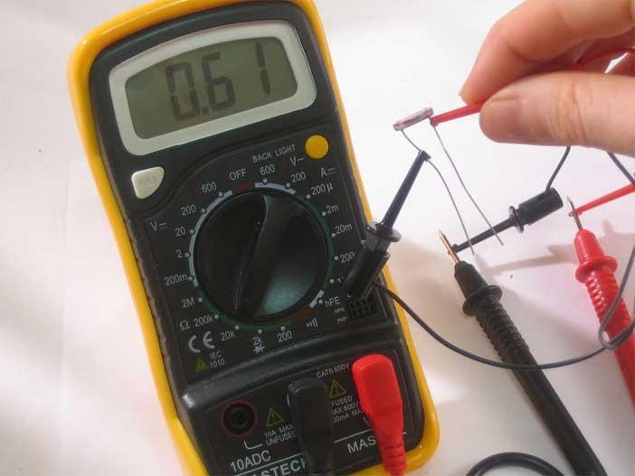 Как проверить сопротивление мультиметром - строительство и ремонт
