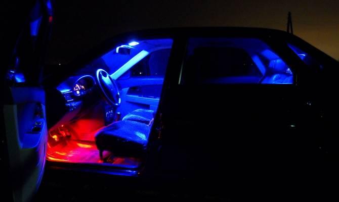 Как установить подсветку автомобиля своими руками