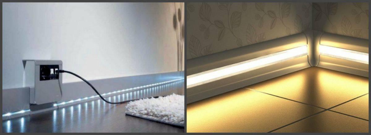 Как дополнительно и правильно подсветить полы в коридоре?