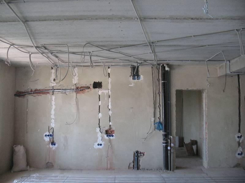 Монтаж электропроводки в квартире своими руками — пошаговая инструкция
