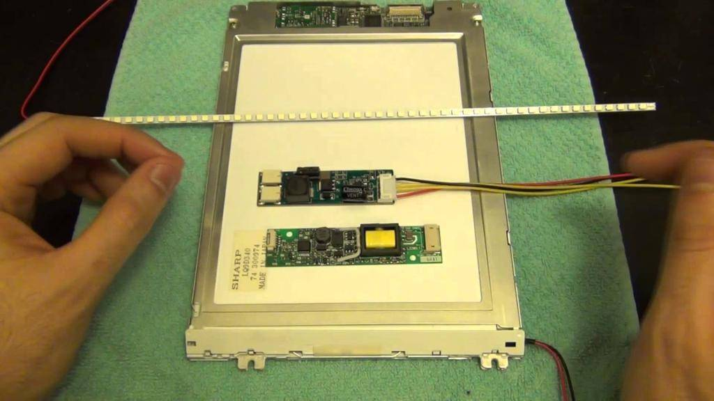 Подсветка монитора – как делается простая светодиодная динамическая самодельная подсветка