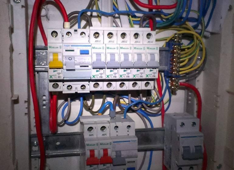 Электрический распределительный щит: сборка, монтаж, схема подключения
