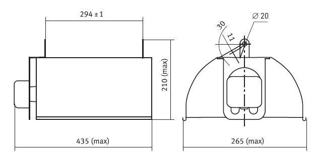 Натриевые лампы днат высокого давления и изу для ламп днат