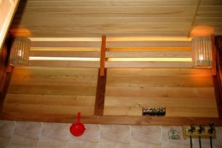 Монтаж электропроводки в бане: рекомендации, требования безопасности